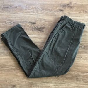 👖 H&M Men's Olive Green Chinos 👖
